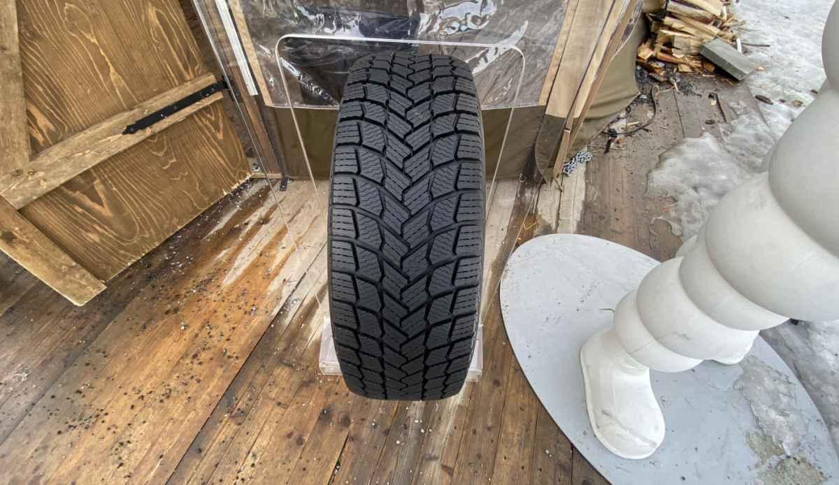 Тест новой шины Michelin X-ICE Snow в Умео