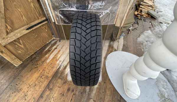 Тест новой шины Michelin X-ICE Snow в Умео