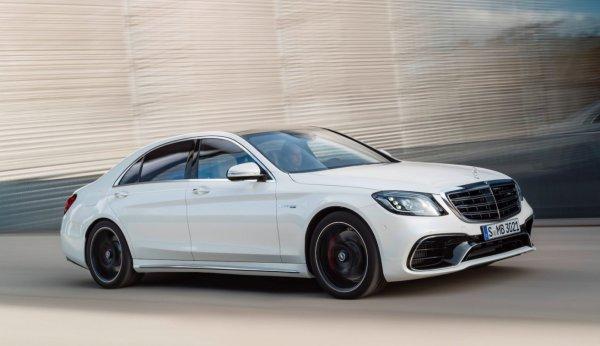 2018 Mercedes S-Class РЕСТАЙЛИНГ ОФИЦИАЛЬНО