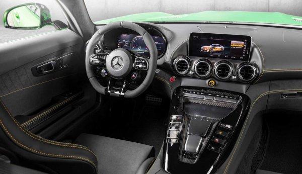 Mercedes-AMG GT 2019 рестайлинг (фото)