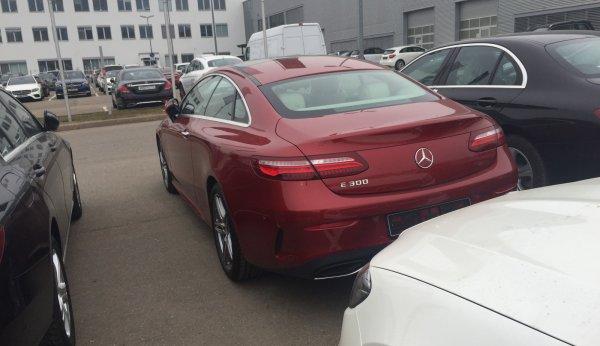 Mercedes-Benz E-Class Coupe уже в Москве