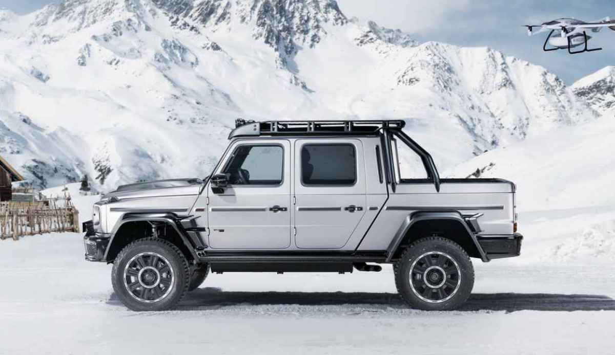 Что то новенькое: G63 Brabus 800 Adventure XLP