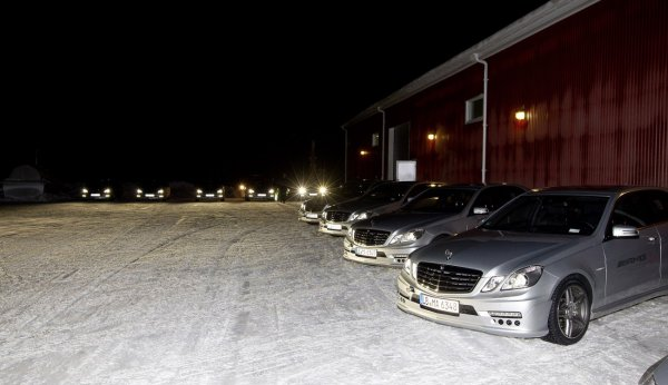 AMG Driving Academy Winter Sporting PRO / Arjeplog 2012, Швеция