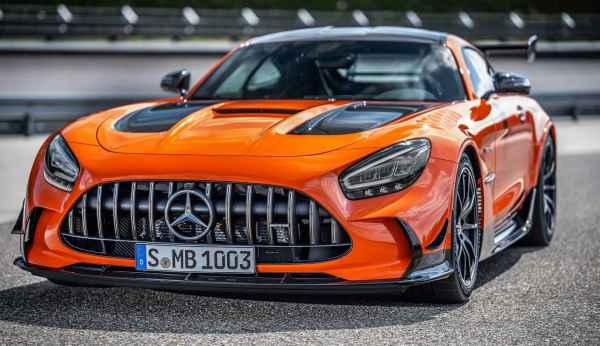 2021 Mercedes-AMG GT Black Series ОФИЦИАЛЬНО