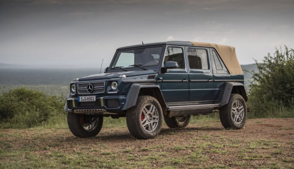 Mercedes-Maybach G650 Landaulet - официально!