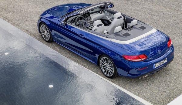 Mercedes-Benz C-class Cabriolet официально