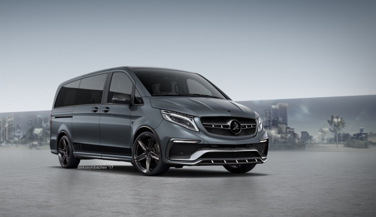 Mercedes-Benz V-class by TopCar Design