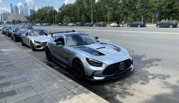 Первый AMG GT Black Series в Москве