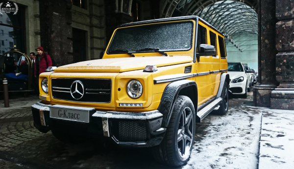 Mercedes-Benz G63 AMG Crazy Color Edition в Москве