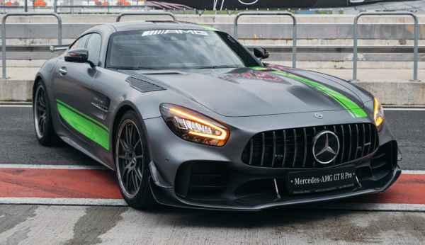 AMG GTR PRO на треке