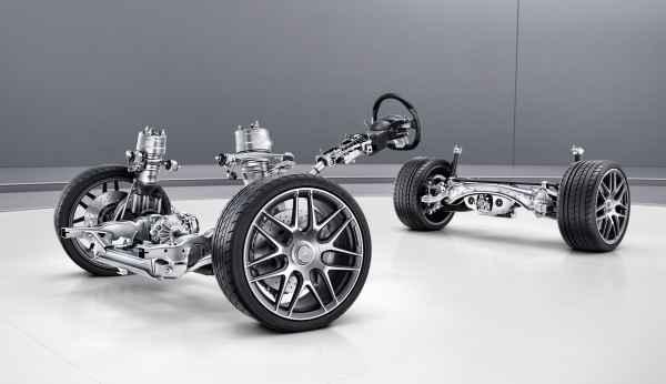 Системы ходовой части Mercedes-Benz