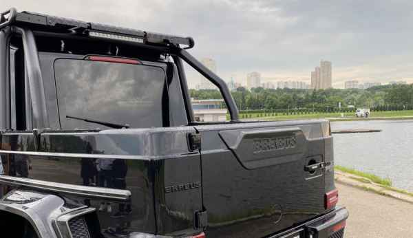 Brabus 800 Advendure XLP - первый в РФ