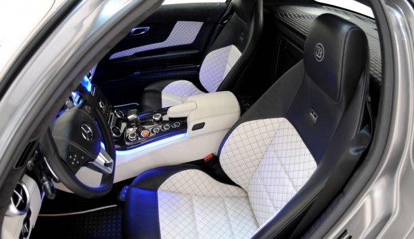 Brabus 700 Biturbo на базе Mercedes SLS