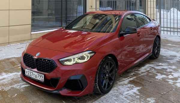 Попробовал BMW M235i Gran Coupe (vs CLA)