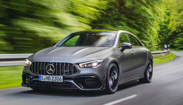 Mercedes-AMG A 45 4MATIC+ and CLA 45 4MATIC+ (421л.с.) - Официально!
