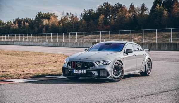 Новый Brabus Rocket на основе 4-х дверного купе Mercedes-AMG GT