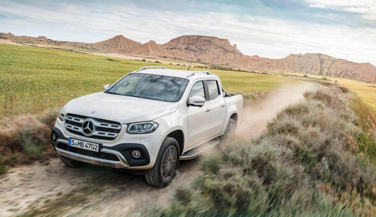 2018 Mercedes X-Class Pickup ОФИЦИАЛЬНО