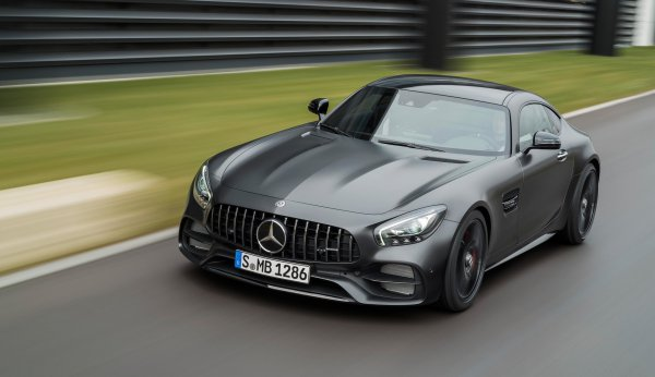 Новый Mercedes-AMG GT C Coupe ОФИЦИАЛЬНО