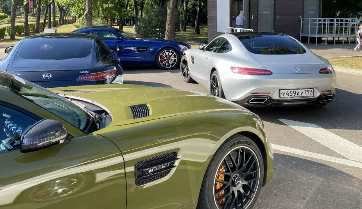 AMG GT встреча (Лужники 24.07.21)