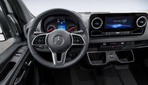 Новый Mercedes-Benz Sprinter 2018 (воу!)
