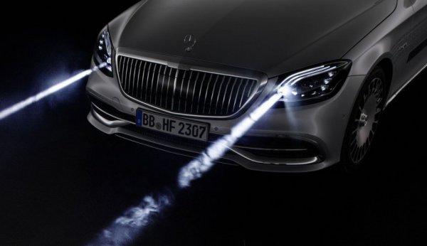 Mercedes-Benz представит новый Maybach уже в этом году