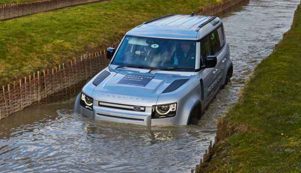 Тест нового Land Rover Defender 2020