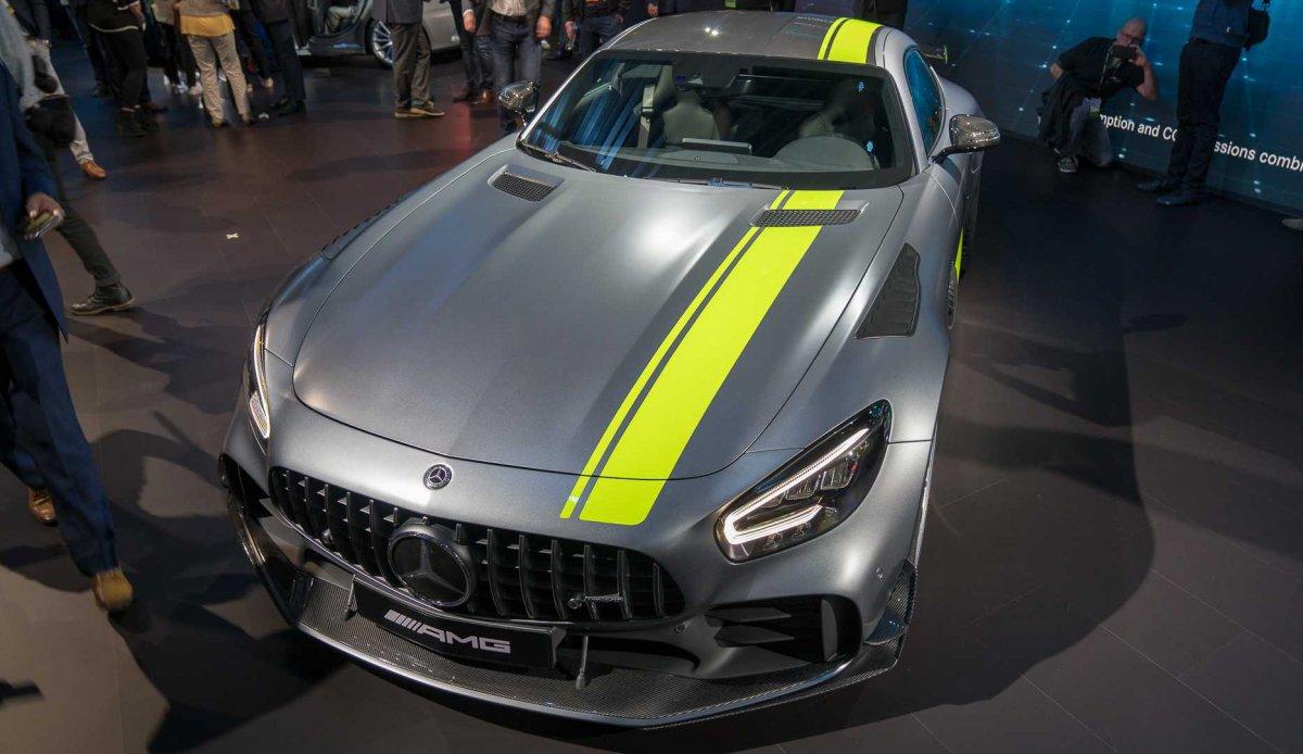 Mercedes-AMG GT R PRO - официально! (2019)
