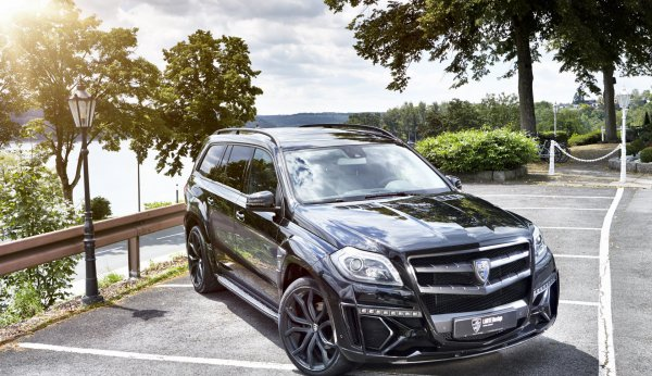 Mercedes-Benz GL Black Crystal от Larte Design
