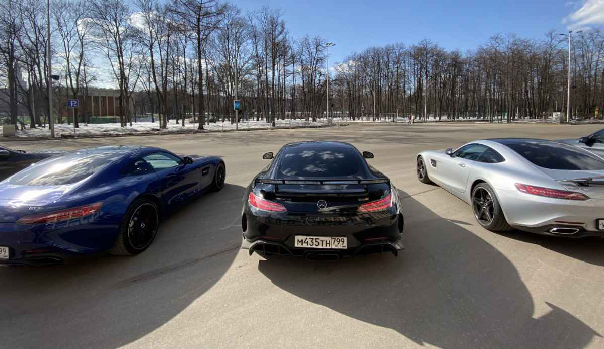Открыли сезон AMG 28.03.21 Лужники