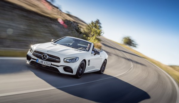 Mercedes-Benz SL facelift официально (фейслифт)