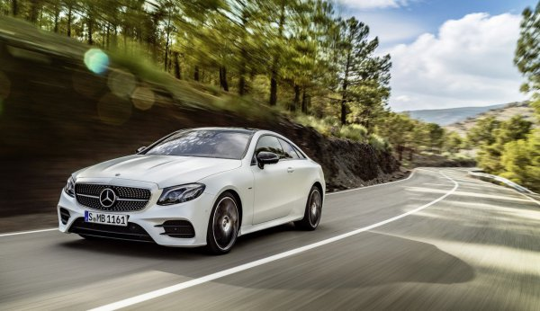 Официально: 2018 Mercedes-Benz E-Class Coupe