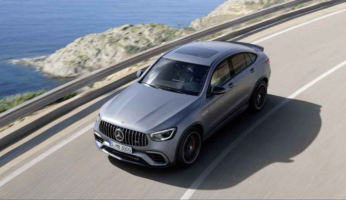 Mercedes-AMG GLC 63, 63 Coupe Рестайлинг 2019