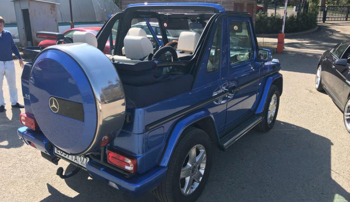 G500 Cabrio