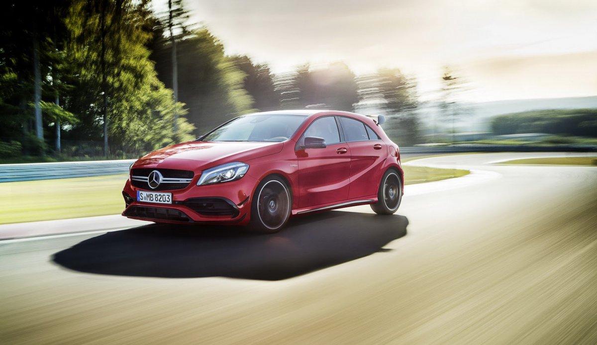 A-class 2016 Facelift - официально!