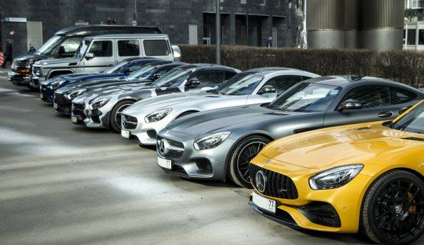 Открытие сезона AMG GT (фото)