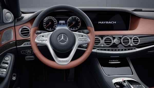 Изменения нового модельного года Mercedes-Maybach.