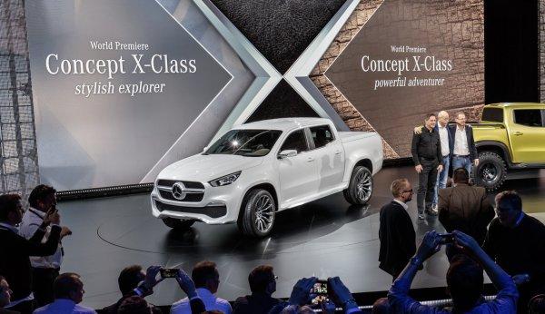 Mercedes-Benz X-class Pickup концепт!