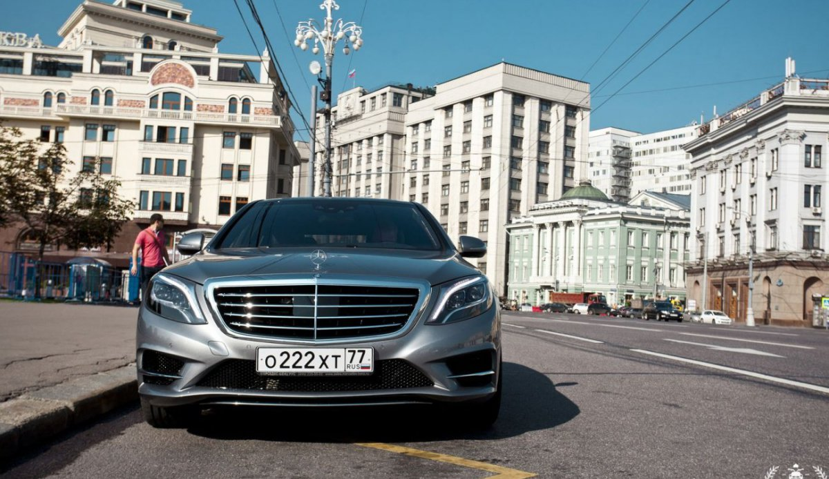 Mercedes-Benz S-class 2013 (S500 w222)
