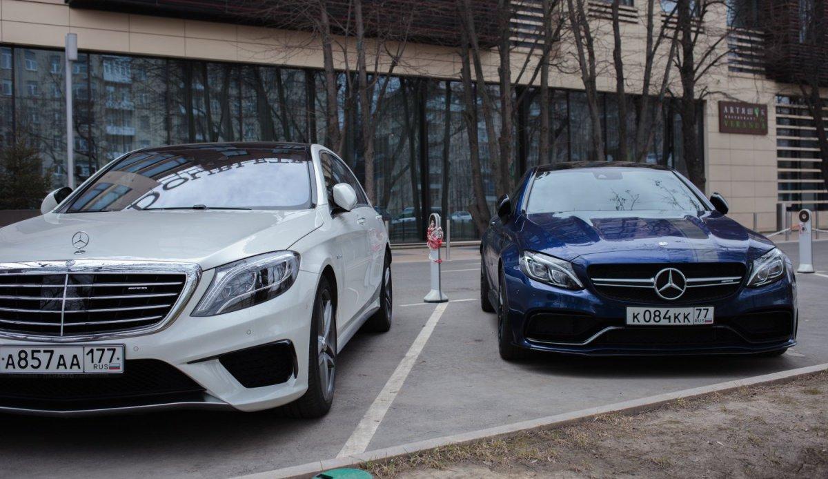 Mercedes-Benz & Caffee - Открытие сезона 2017 (Фото)