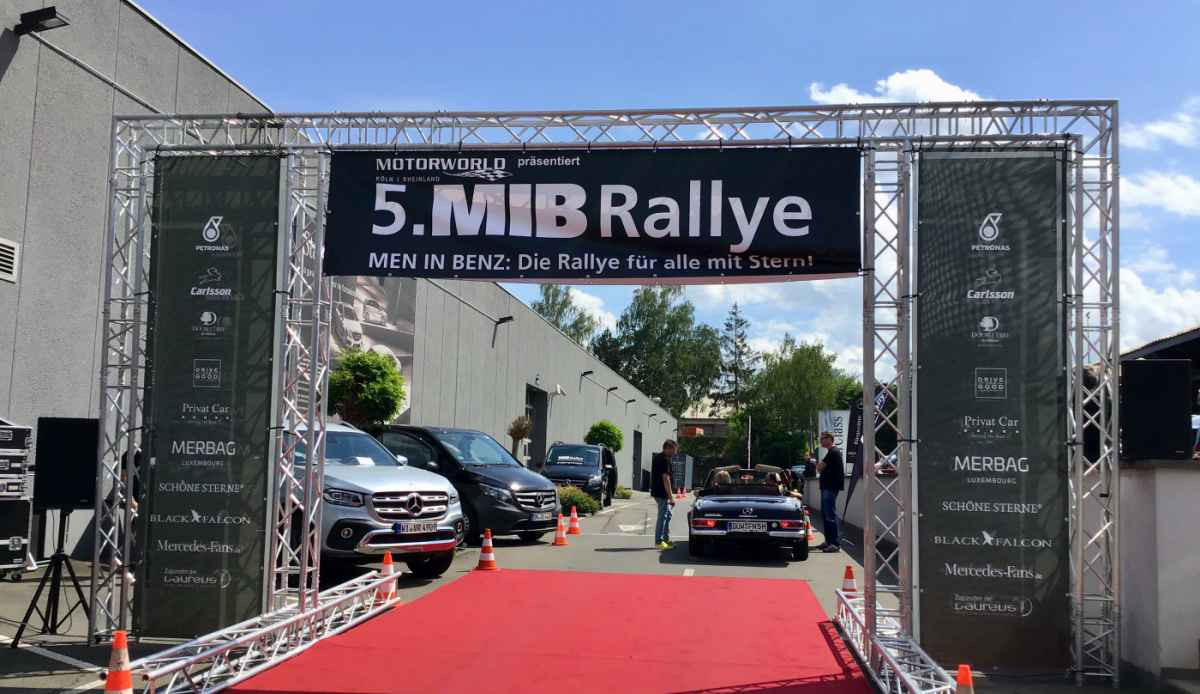 MIB Rallye (Checkpoint Luxembourg)