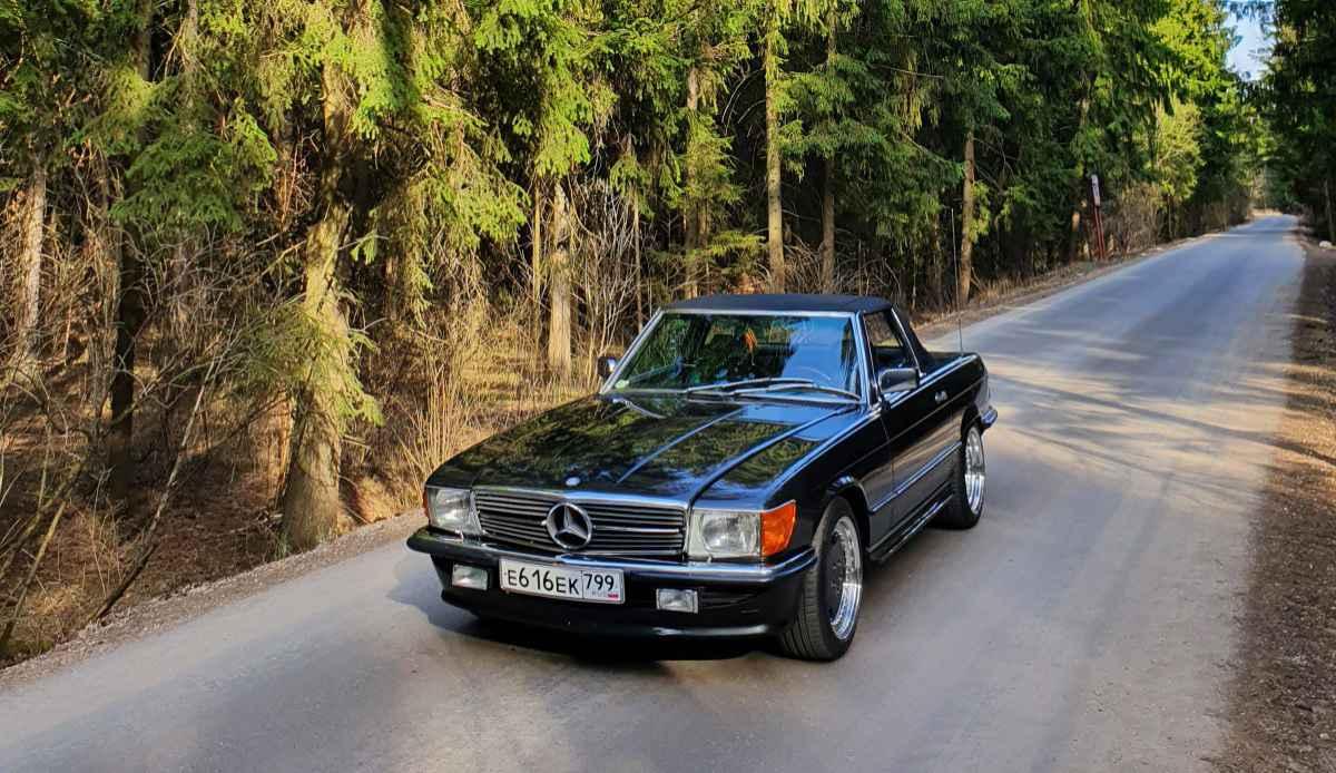 Машины нашего форума (R107)