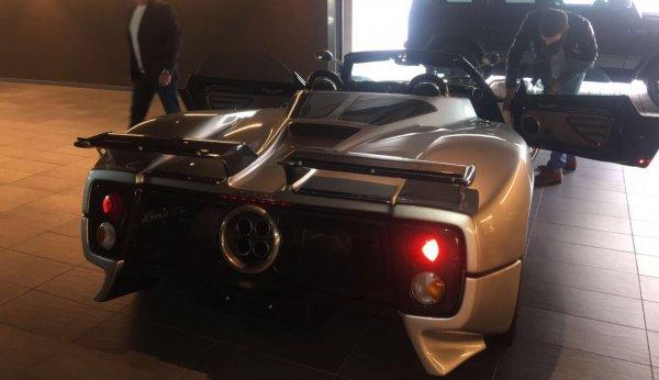 Pagani Zonda 760 Roadster Cinque/Tricolore