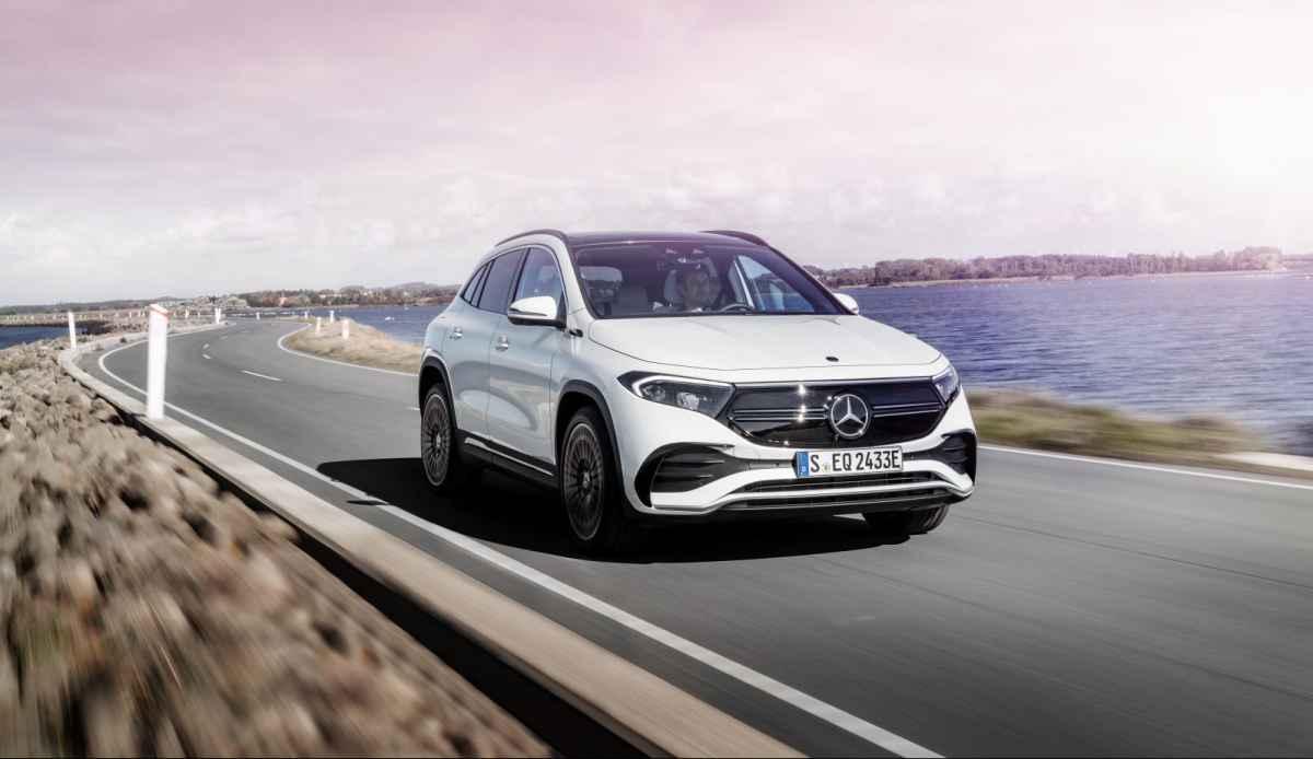 Mercedes EQA 2021 - Официально!