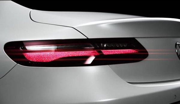 Раскрыли Новый E-Class Coupe 2017