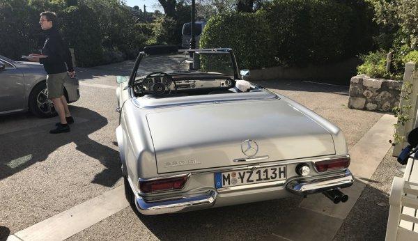 Mercedes-Benz Classic Tour 2017 на Лазурке