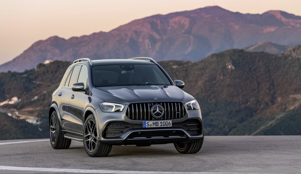 Mercedes-AMG GLE 53 4MATIC Официально