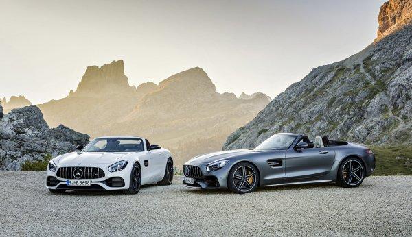 2017 Mercedes-AMG GT Roadster ОФИЦИАЛЬНО