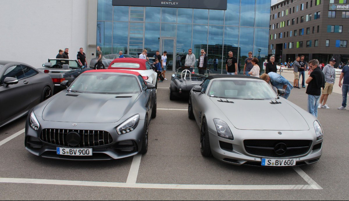 AMG meets Motorworld