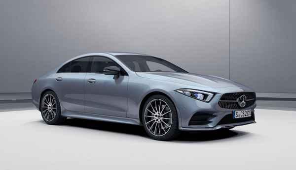 Изменения нового модельного года Mercedes CLS.
