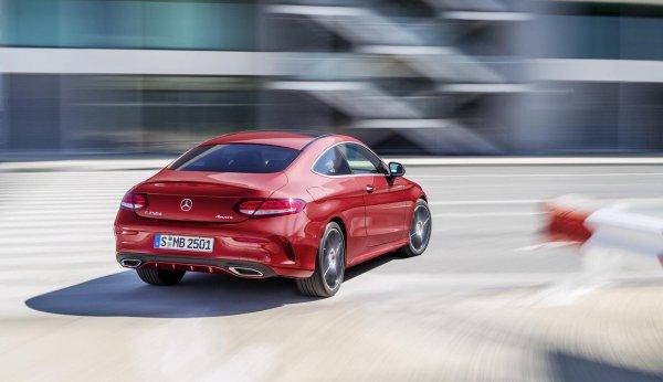 Mercedes-Benz C-coupe 2016 - официально!!